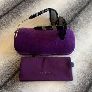 { Gucci } Square Black Sunglasses GG0599SA
